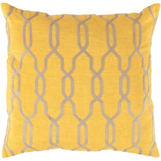 Surya Glamorous Geometric Pillow
