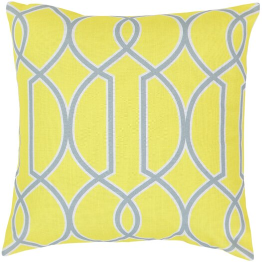 Surya Intersecting Lines Throw Pillow