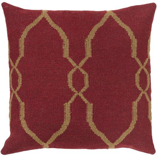 Surya Juxtaposed Geometric Throw Pillow