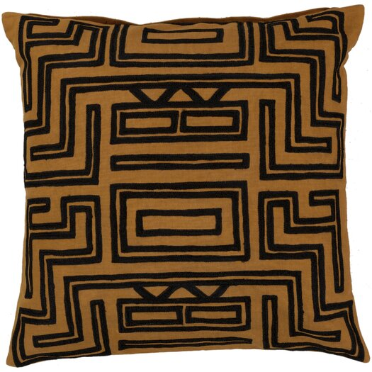 Surya Mesmerizing Maze Pillow