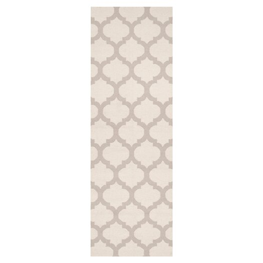 Surya Frontier Oatmeal & White Area Rug