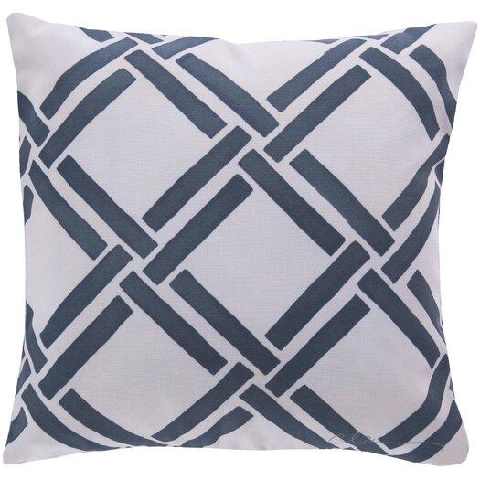 Surya Eye Catching Overlap Pillow