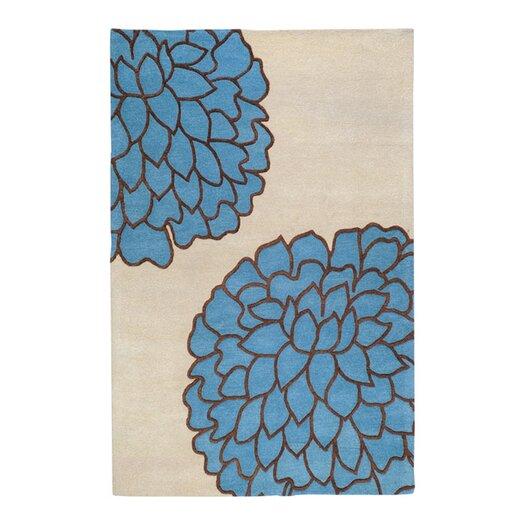 Surya Artist Studio Ivory/Sky Blue Area Rug