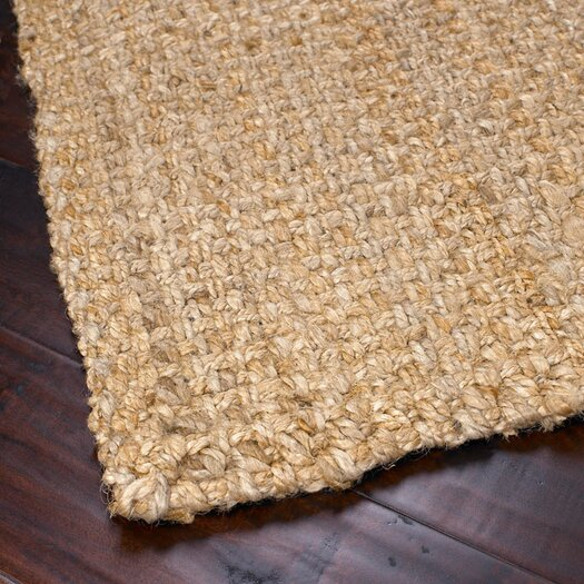 Surya Jute Woven Brown Area Rug