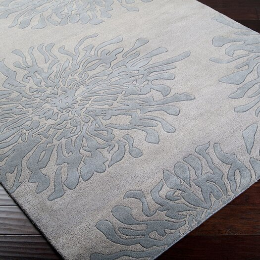 Surya Bombay Gray/Blue Area Rug