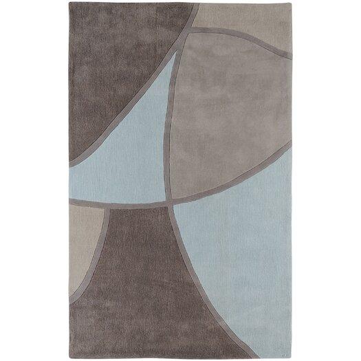 Surya Cosmopolitan Gray & Blue Area Rug