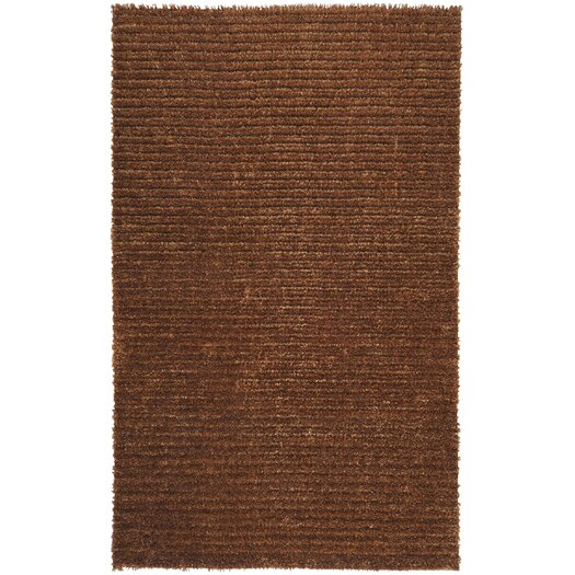 Surya Harvest Copper Brown/Tan Solid Area Rug