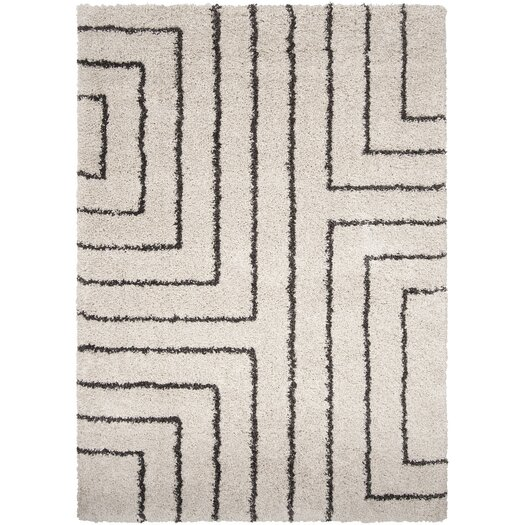 Surya Kodiak White Charcoal Rug