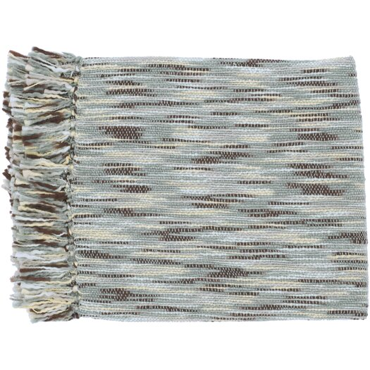 Surya Teegan Acrylic Throw Blanket