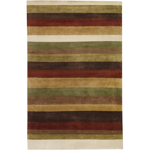 Surya Dimensions Yellow/Red Area Rug