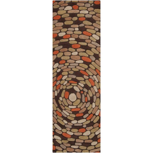 Surya Pebble Beach Golden Brown Area Rug