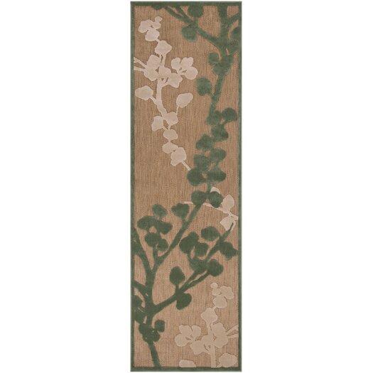 Surya Portera Teal/Ivory Outdoor Rug