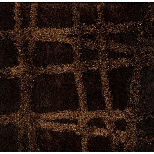 Surya Graph Dark Chocolate/Brown Geometric Area Rug