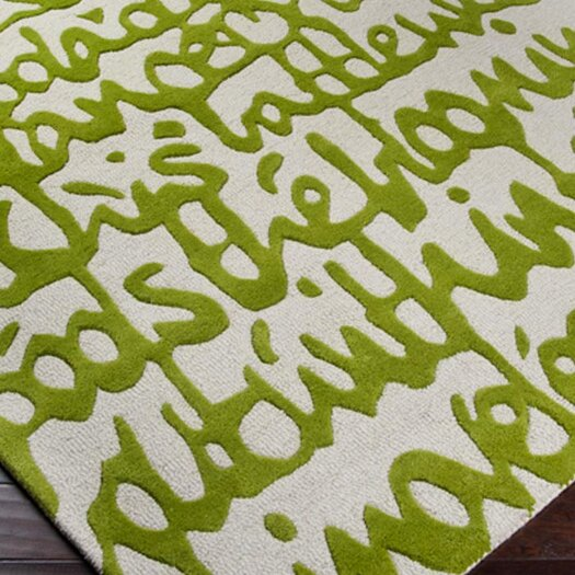 Surya Stella Smith Apple Green Rug