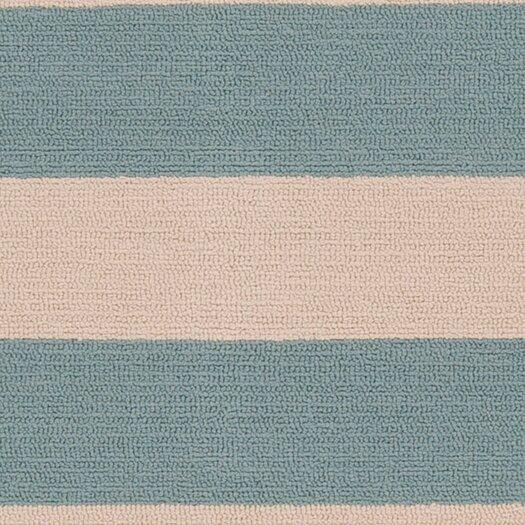 Surya Rain Parchment/Stormy Stripe Indoor/Outdoor Rug