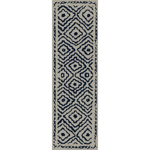 Surya Atlas Sapphire Blue/Ivory Area Rug