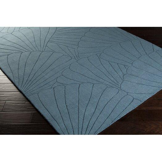 Surya Shell Pacific Blue Rug