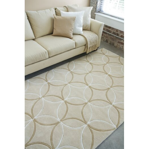 Surya Sawyer Tan Area Rug