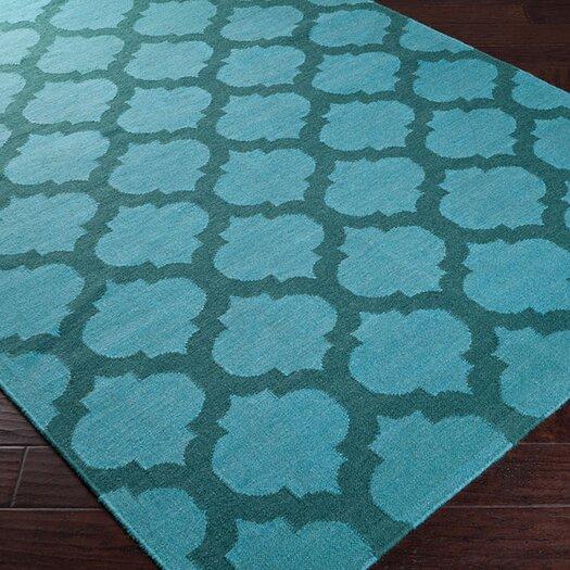 Surya Frontier Teal Green/Sea Blue Area Rug