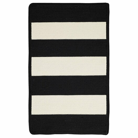 Capel Rugs Willoughby Black/White Indoor/Outdoor Area Rug