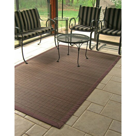 Anji Mountain Bamboo Rugs Villager Coffee Area Rug