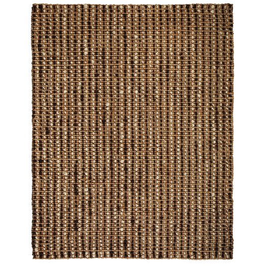 Anji Mountain Jute Natural Chesterfield Area Rug
