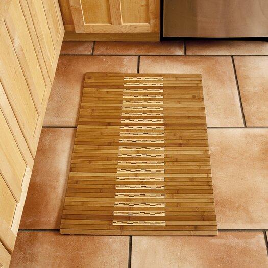 Anji Mountain Bamboo Kitchen and Bath Area Mat