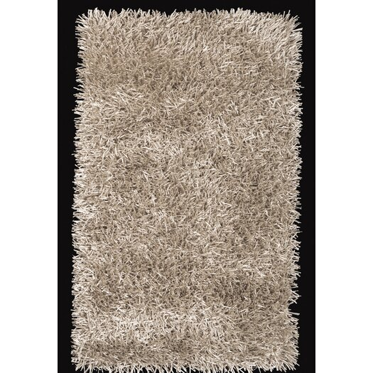Foreign Accents Elementz Fettuccine Champagne Area Rug