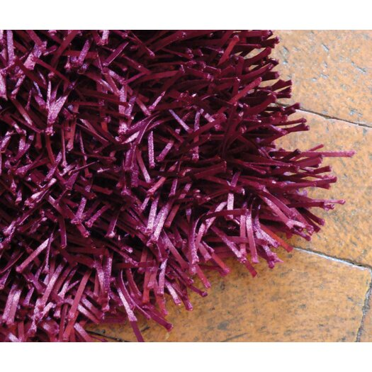 Foreign Accents Elementz Fettuccine Wine Area Rug