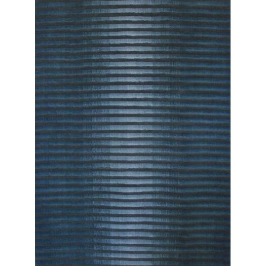 Foreign Accents Boardwalk Marine Blue/Dark Grey Area Rug