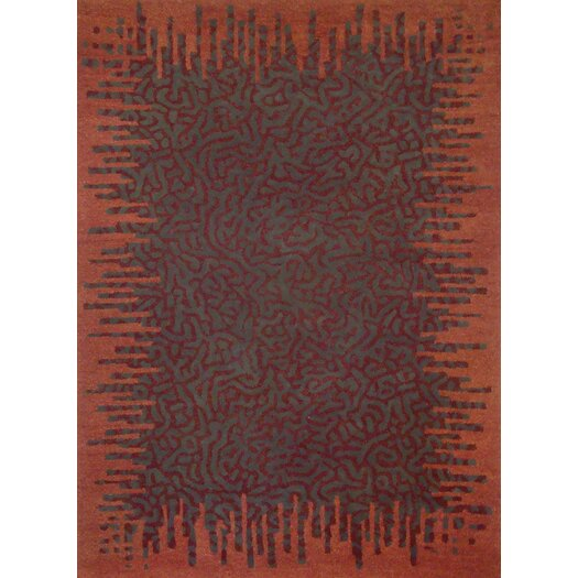 Foreign Accents Boardwalk Rust/Copper Area Rug