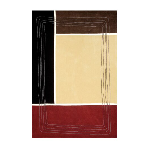 Foreign Accents Festival Warm Beige Area Rug