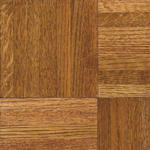 "Armstrong Urethane Parquet 12"" Solid Oak Flooring in Honey"