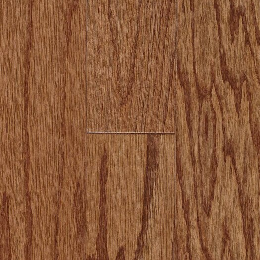 """Armstrong Fifth Avenue Plank 5"""" Engineered Red Oak Flooring in Sable"""