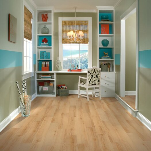 "Armstrong Luxe Sugar Creek Maple 6"" x 36"" Vinyl Plank in Natural"