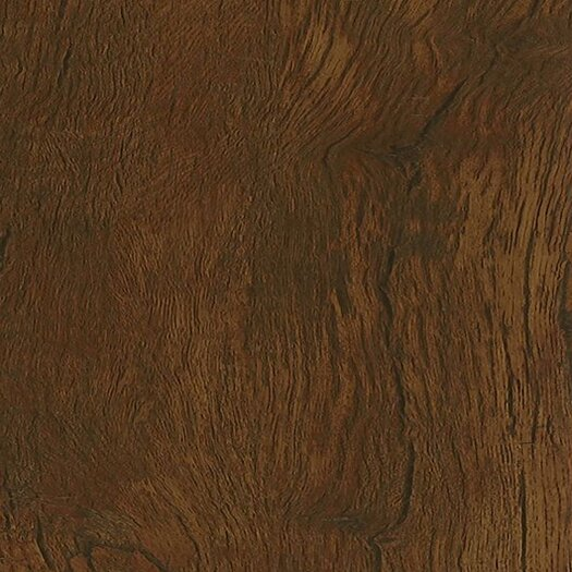 """Armstrong Luxe Timber Bay Hickory 6"""" x 48"""" Vinyl Plank in Umber"""