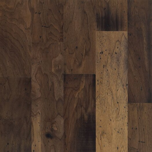 "Armstrong Blackwater Classics 5"" Engineered Walnut Flooring in Antique Natural"