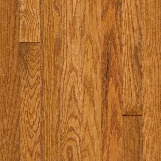 "Armstrong Somerset Strip 2-1/4"" Solid Oak Flooring in Large Praline"