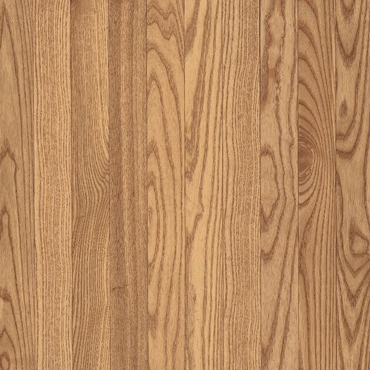 """Armstrong Yorkshire 3-1/4"""" Solid Red Oak Flooring in Pioneer Natural"""
