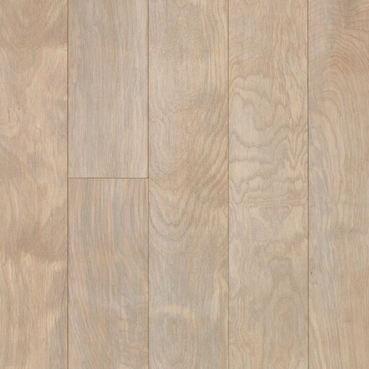 "Armstrong Performance Plus 5"" Engineered Birch Flooring in Driftscape White"