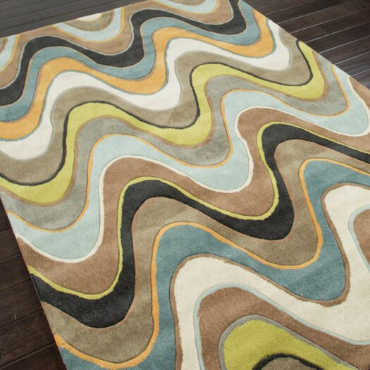 Jaipur Rugs Fusion Serendipity Brown Area Rug