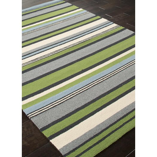 Jaipur Rugs Colours I-O Green Stripe Indoor/Outdoor Area Rug