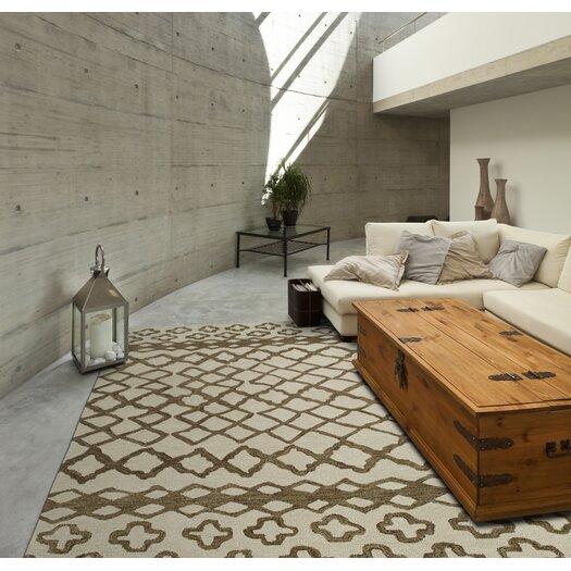 Kaleen Casablanca Brown Geometric Area Rug