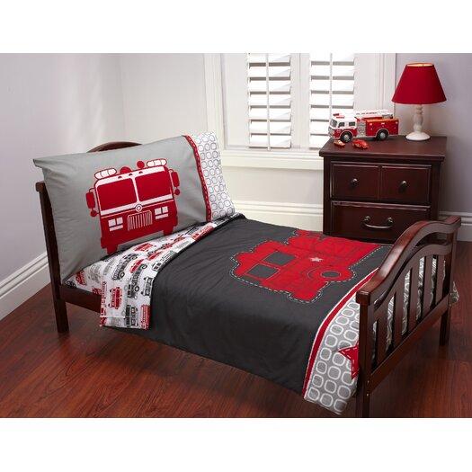 Carter's® Fire Truck 4 Piece Toddler Bedding Set