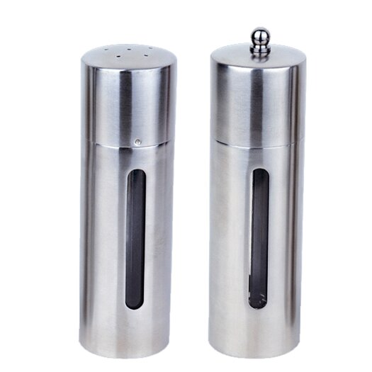 BergHOFF International Round 2- Piece Salt and Pepper Mill Set