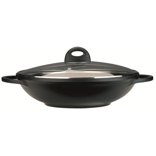 BergHOFF International Cook & Co 12.5-in. Non-Stick Wok with Lid