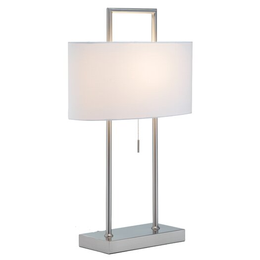 "Adesso Sullivan 26.5"" H Table Lamp with Rectangular Shade"