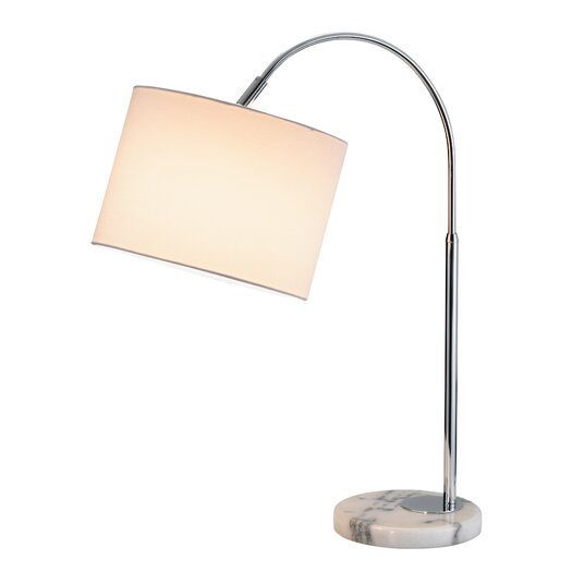 "Adesso Grace 23.5"" H Table Lamp with Drum Shade"