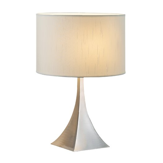 "Adesso Luxor 20.5"" H Table Lamp with Drum Shade"