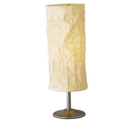 """Adesso Zone 20"""" H Table Lamp with Drum Shade"""